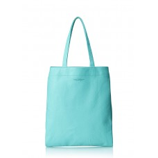 Кожаная сумка POOLPARTY Daily Tote blue..